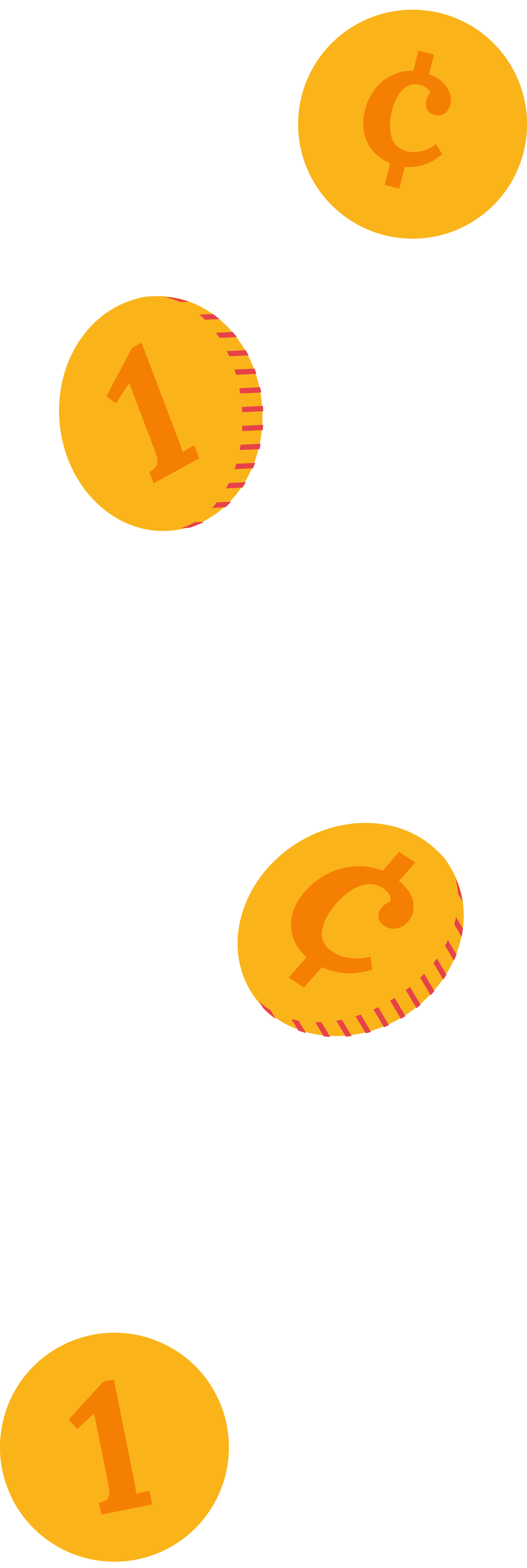 Illustrations of coins.